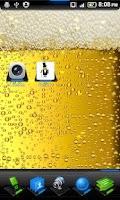 Screenshot of Bubbly Beer Live Wallpaper