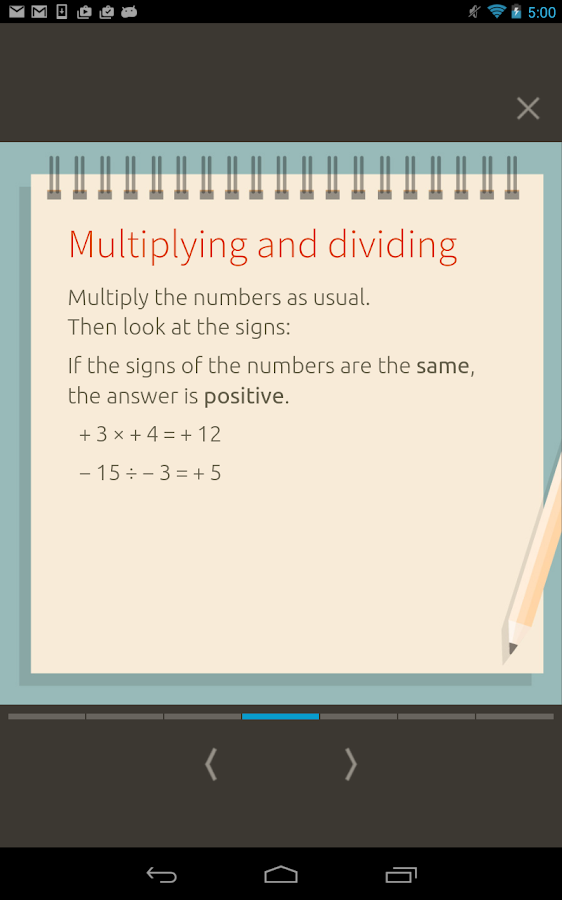 KS3 Maths: Core - nimbl Screenshot 12