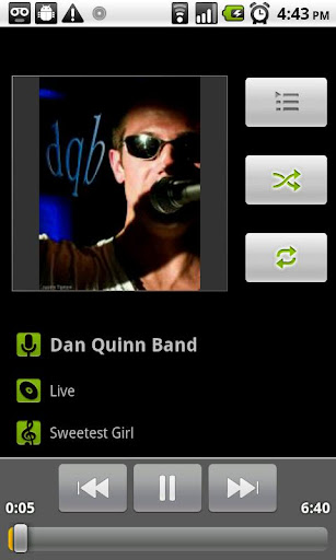 android-music-player for android screenshot