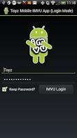 Screenshot of Toyz Mobile App for IMVU