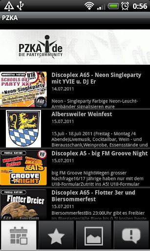 PZKA.de Karlsruhe Eventplan