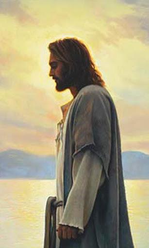 Walk with Jesus-Art by G.Olsen