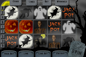 Screenshot of Halloween Slots Free