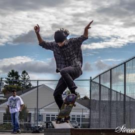 skateboarding by Steven Maguire - Sports & Fitness Skateboarding