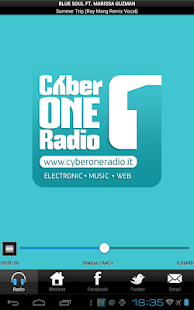 CyberOneRadio - screenshot