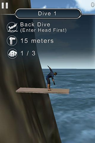 【免費體育競技App】懸崖跳水3D-APP點子