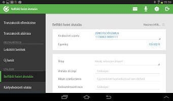 Screenshot of OTP SmartBank