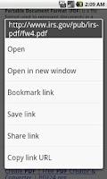 Screenshot of PDF Downloader