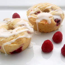 Raspberry Yogurt Mini Bundt Cakes (or Scones)
