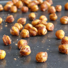 Crispy Cinnamon-Chili Chickpeas