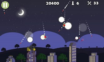 Screenshot of Missile Defender