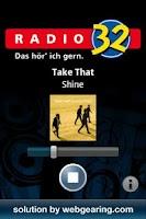 Screenshot of Radio 32