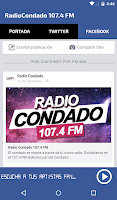 Screenshot of Radio Condado