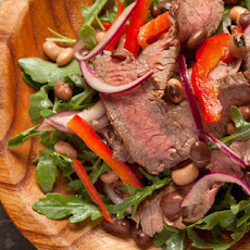 Flank Steak and Arugula Salad Recipe