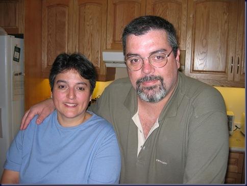 Gaby and I - 17/May/2003