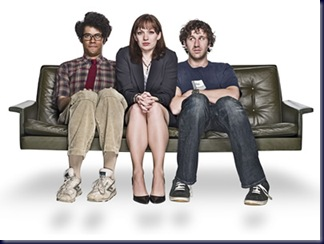 Moss, Jen and Roy - The IT Crowd