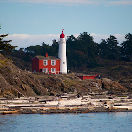 Royal Roads by Keith Sutherland - Buildings & Architecture Public & Historical ( canada, lighthouse, pacific, ocean, victoria )