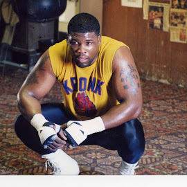 Albert Williams Heavyweight contender by Stephen Jones - Sports & Fitness Boxing