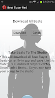 Screenshot of Beat Slayer Red