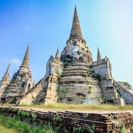 Ayutthaya Kingdom by Low YingTong - Buildings & Architecture Public & Historical ( hdr, kingdom, thailand, ayutthaya, architecture, historical, heritage, unesco )