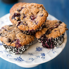 Friday Morning Blueberry Muffins