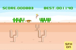 Screenshot of Desert Run
