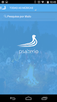 Screenshot of Psaltério
