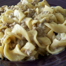 Ground Beef Stroganoff (Like Hamburger Helper)