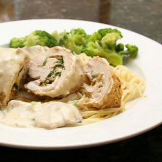 Chicken Stuffed With Basil and Mozzarella Cheese