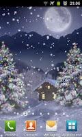 Screenshot of Winter Snow Xmas LWP Free