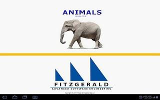 Screenshot of AnimalsKidz