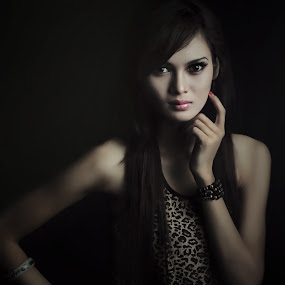 habis terang by Sesar Arief - People Portraits of Women ( pose, woman, indonesia, mood, sesararief, people )