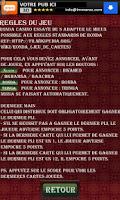 Screenshot of Ronda Marocaine ver. Casino