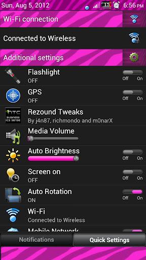 ピンクのシマウマセンス3.6 SkinV2