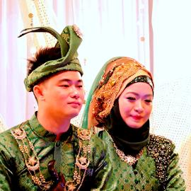 by Yusop Sulaiman - Wedding Bride & Groom