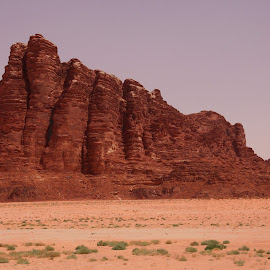 Wadi Rum, The land of Lawrence of Arabia by Benny Berget - Landscapes Deserts