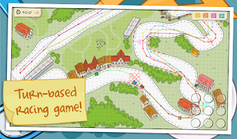 Screenshot of Paper Racing