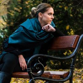 Nóra by Máté Csöbönyei - People Portraits of Women