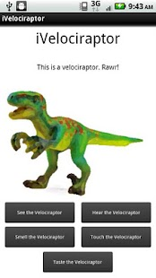 iVelociraptor - screenshot