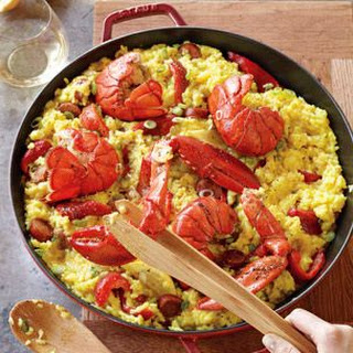 Lobster and Chorizo Paella