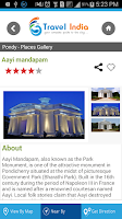 Screenshot of Travel Pondy