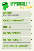 Screenshot of Hypno Golf-Win From the First