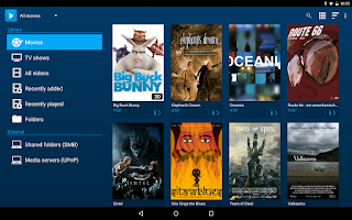 Screenshot of Archos Video Player
