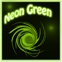 Neon Green Style Go Launcher icon