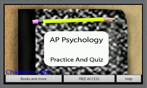 AP Psychology Practice Quiz