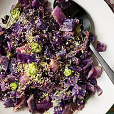 Red Cabbage Stir-Fry with Coconut