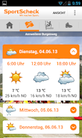 Screenshot of SportScheck Outdoor