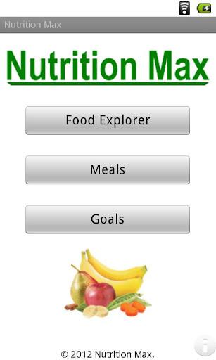 Nutrition Max Free