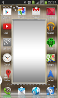 Screenshot of Mirror Transparent Launcher