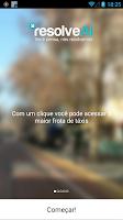 Screenshot of ResolveAÍ Táxi